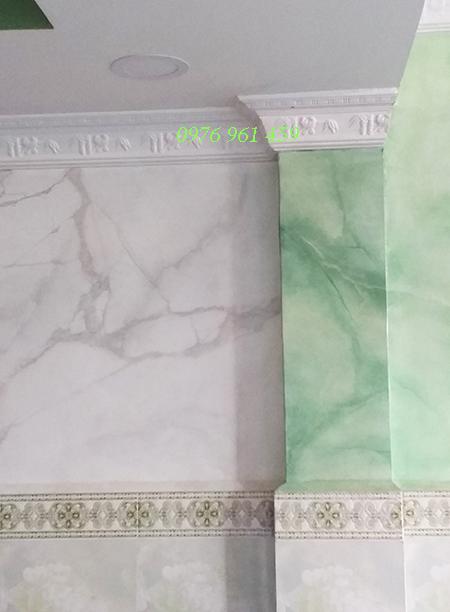 sơn giả đá cẩm thạch cột vuông