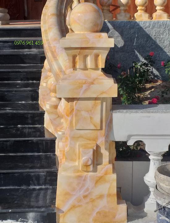 sơn giả đá mặt tiền